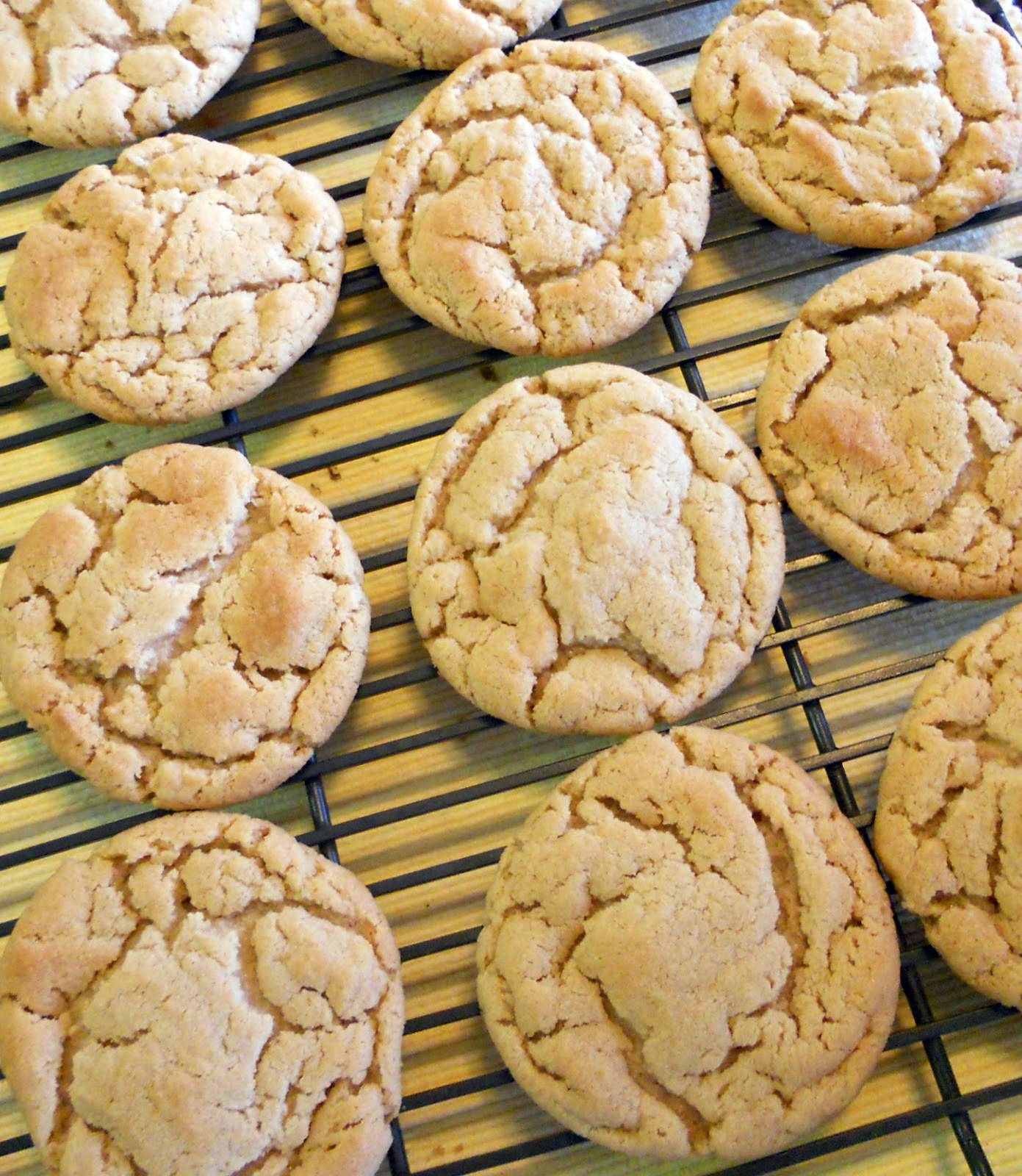 Soft Chewy Peanut Butter Cookies  The Skimpy Pantry Soft and Chewy Peanut Butter Cookies