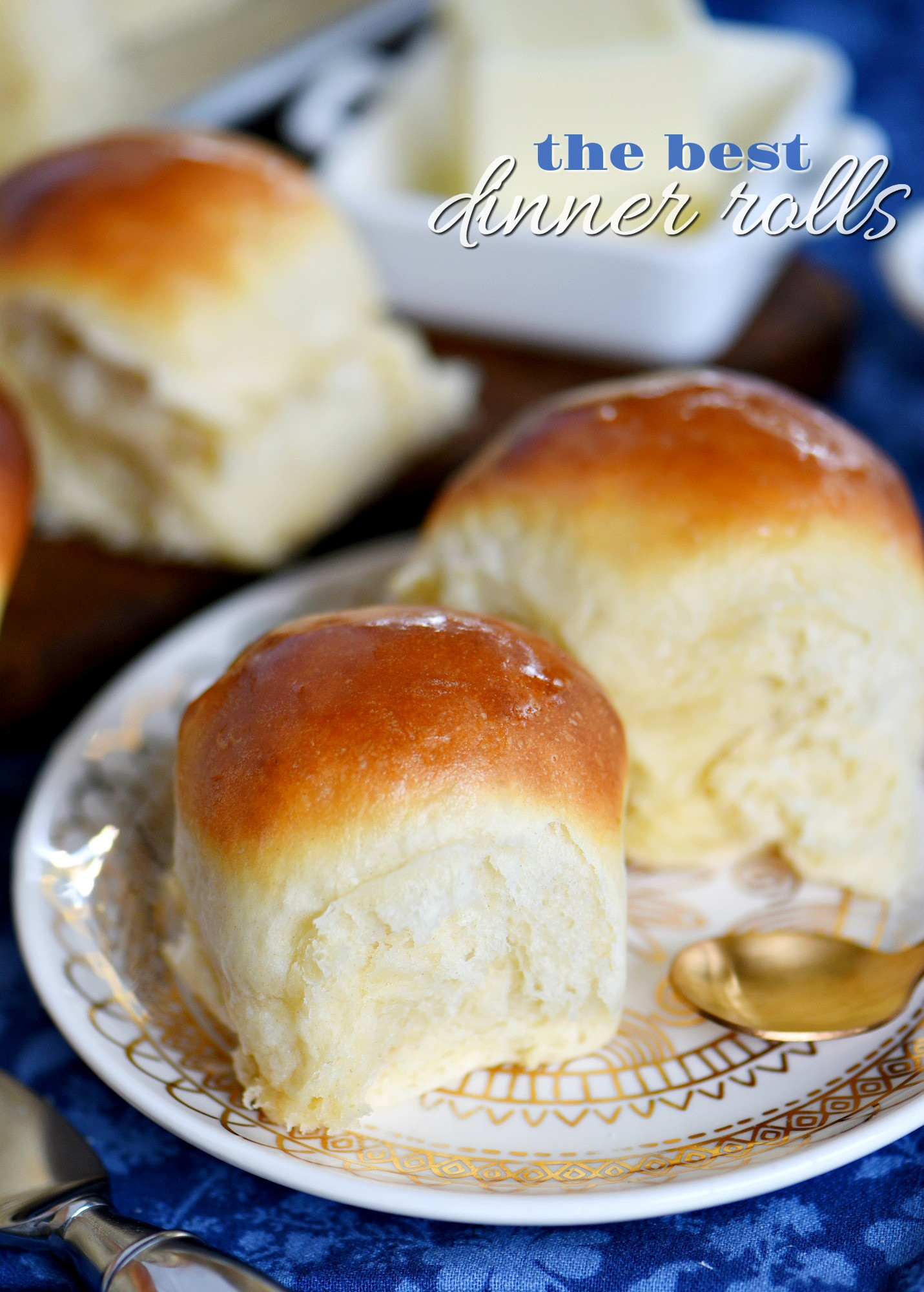 Soft Dinner Roll Recipe  The BEST Dinner Rolls Mom Timeout