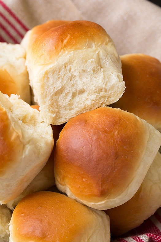 Soft Dinner Roll Recipe  Big Soft and Fluffy e Hour Dinner Rolls Cooking Classy