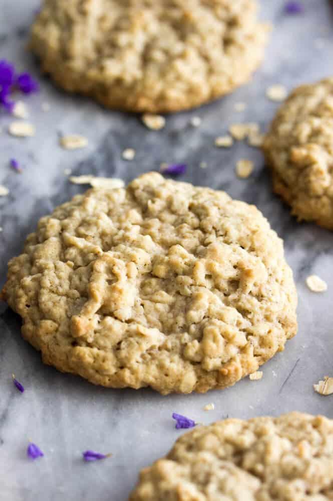 Soft Oatmeal Cookies  Big Soft Oatmeal Cookies Sugar Spun Run