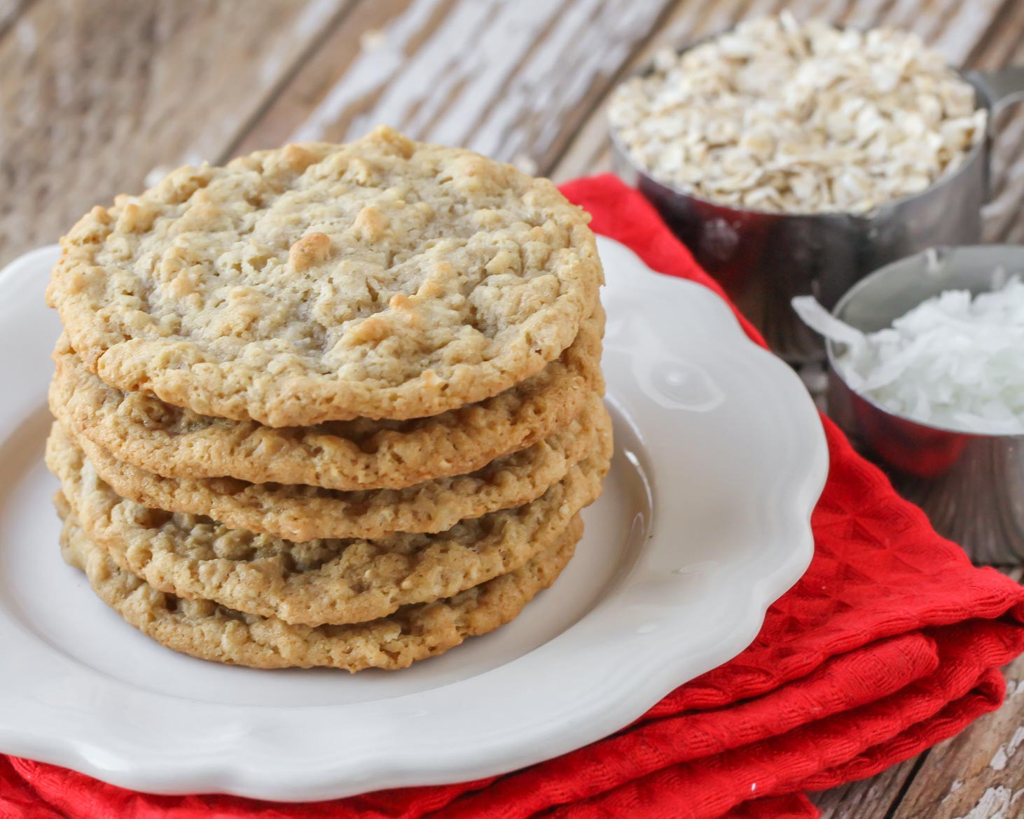 Soft Oatmeal Cookies Recipes  EASY Oatmeal Coconut Cookies Recipe