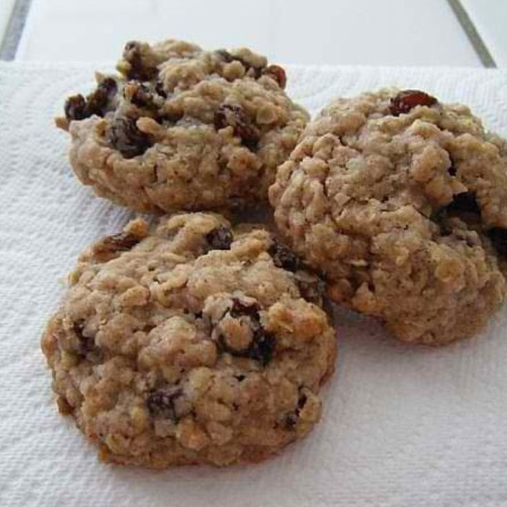 Soft Oatmeal Cookies  Soft Oatmeal Rasin Cookies Recipe