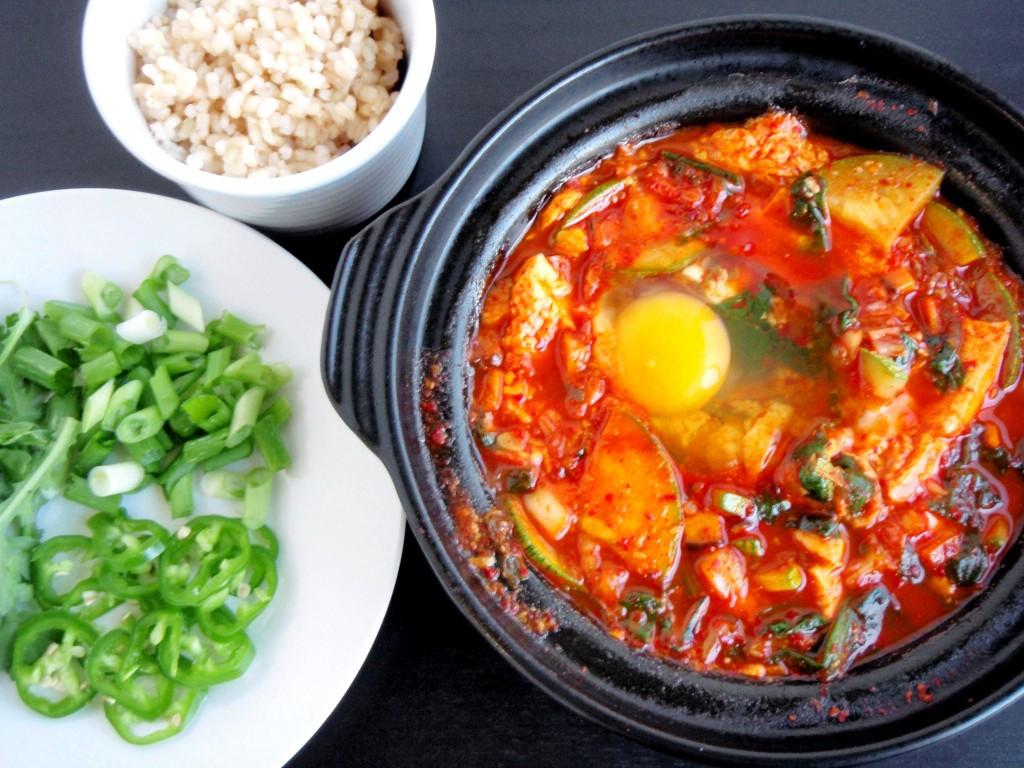 Soft Tofu Recipes  Korean Soondubu Jjigae Soft Tofu Stew Recipe — Dishmaps
