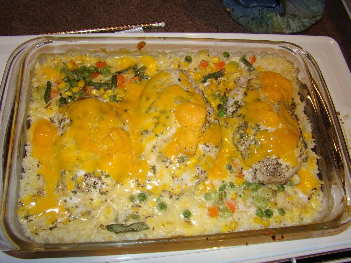 Something Different For Dinner  Something Different For Dinner Cheesy Chicken & Rice