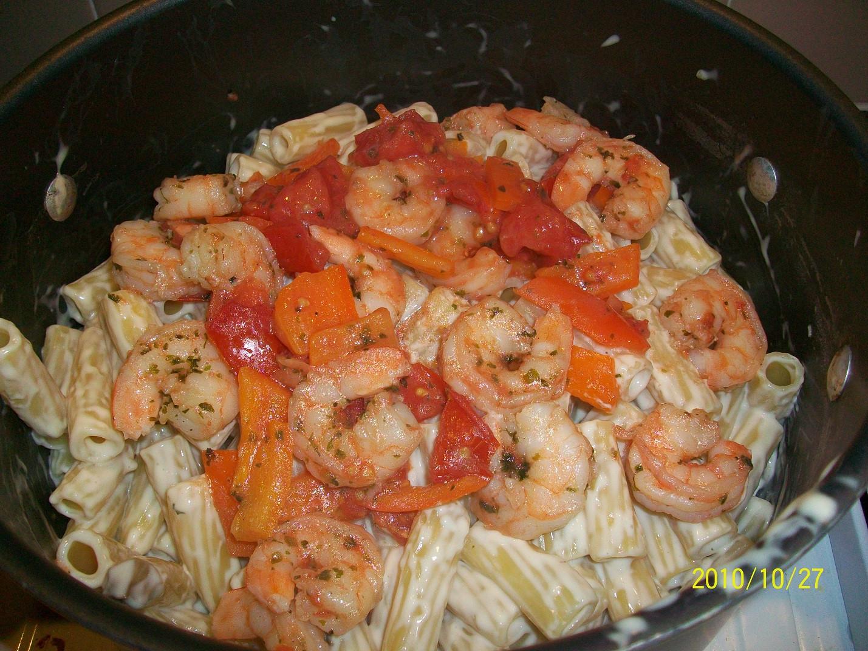 Something Different For Dinner  Something Different For Dinner Shrimp Alfredo with