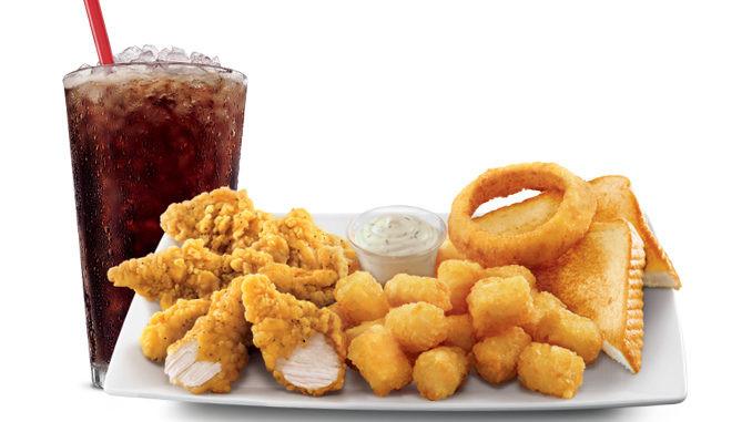 Sonic Chicken Strip Dinner  $5 Sunday Chicken Dinner At Sonic August 6 2017 Chew