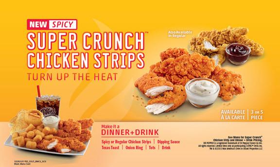 Sonic Chicken Strip Dinner  Portland SONIC Restaurants