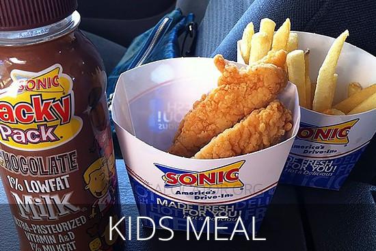Sonic Chicken Strip Dinner  Sonic Menu