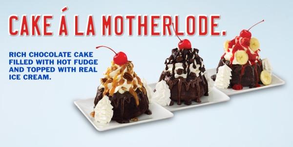 Sonic Dessert Menu  News Sonic New Molten Cake Sundae