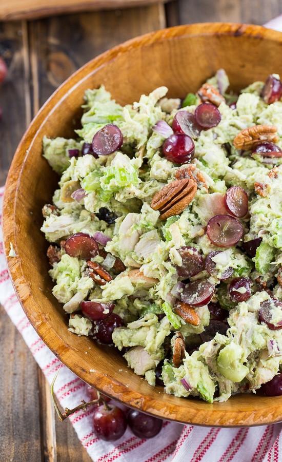Sonoma Chicken Salad  Avocado Sonoma Chicken Salad Spicy Southern Kitchen