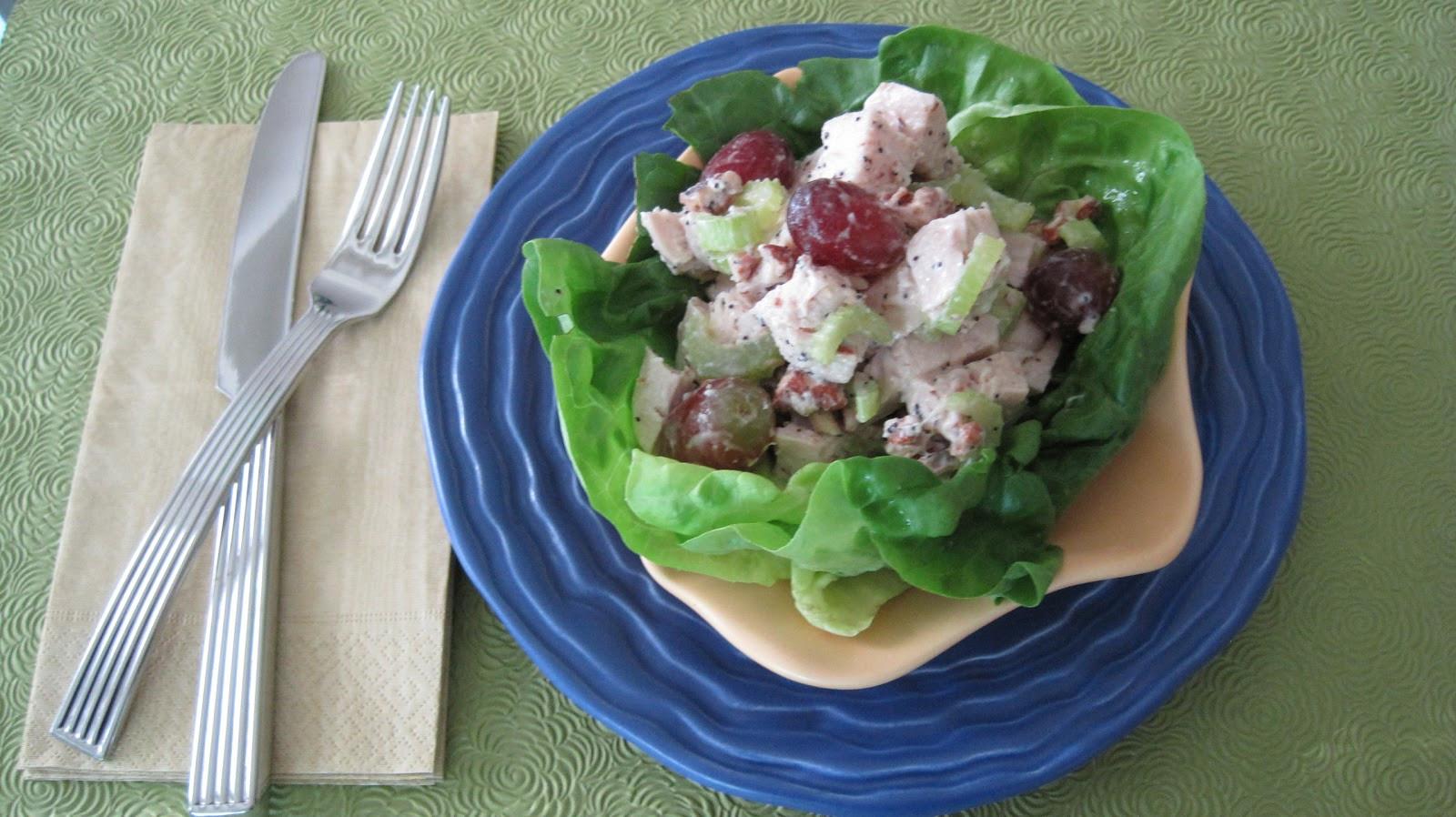 Sonoma Chicken Salad  Sonoma Chicken Salad At Home with Vicki Bensinger