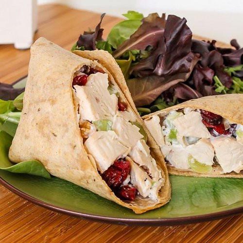 Sonoma Chicken Salad  22 Healthy Wrap Recipes