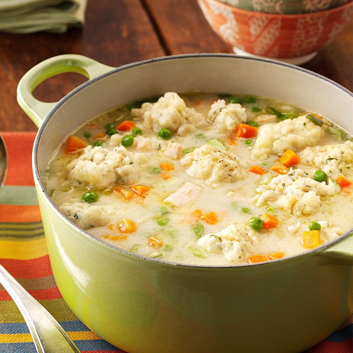 Soup Dumplings Recipe  Traditional Chicken Dumpling Soup Recipe