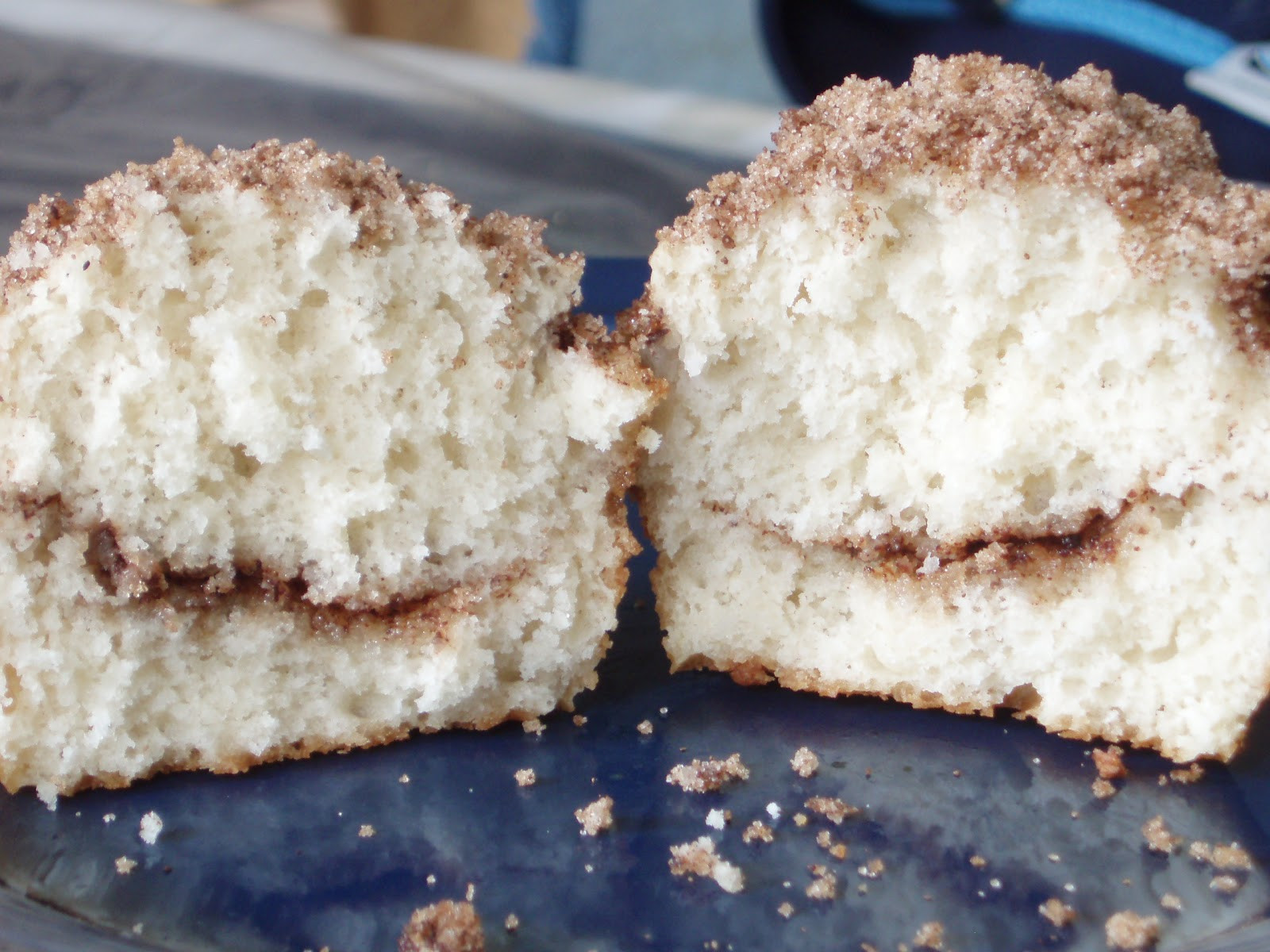 Sour Cream Coffee Cake Muffins  Open Mouth Insert Food Sour Cream Coffee Cake Muffins