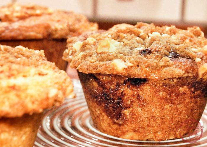 Sour Cream Coffee Cake Muffins  sour cream coffee cake muffins