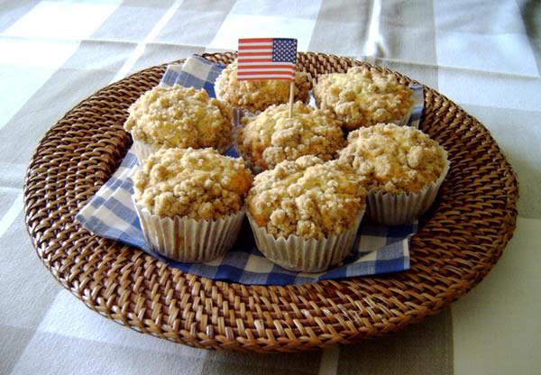 Sour Cream Coffee Cake Muffins  Sour Cream Coffee Cake Muffins USA kulinarisch