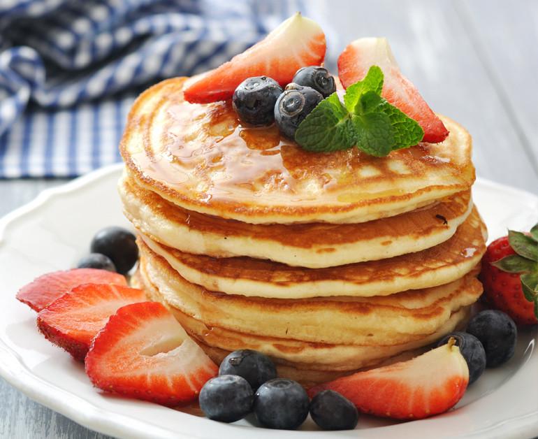 Sour Cream Pancakes  Daisy Sour Cream Pancakes Daisy Brand