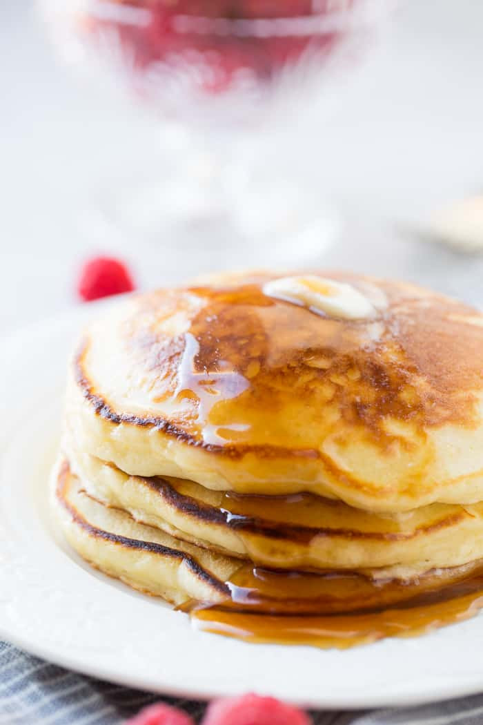 Sour Cream Pancakes  melt in your mouth sour cream pancakes