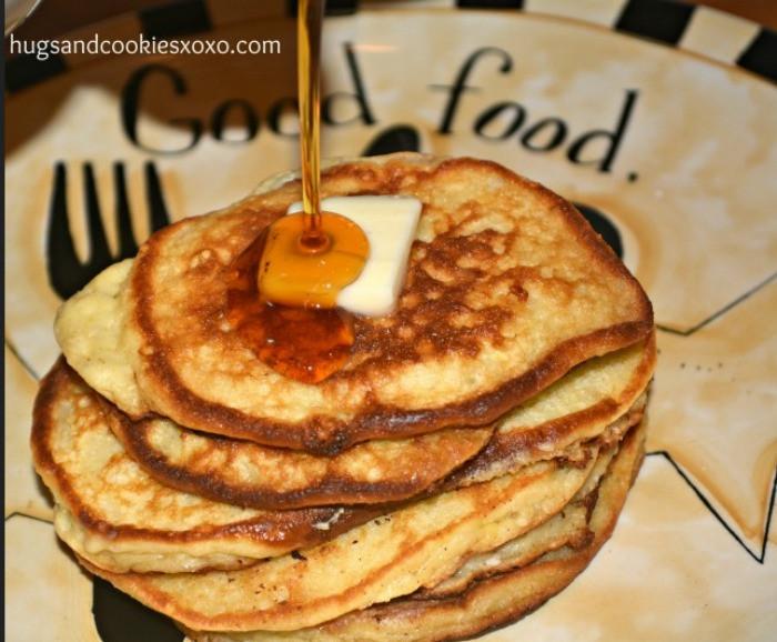 Sour Cream Pancakes  Sour Cream Pancakes Hugs and Cookies XOXO