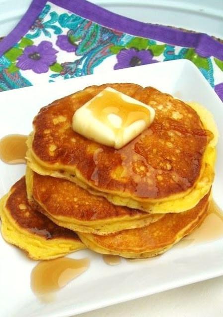 Sour Cream Pancakes  Edna Mae s Sour Cream Pancakes The Pioneer Woman How