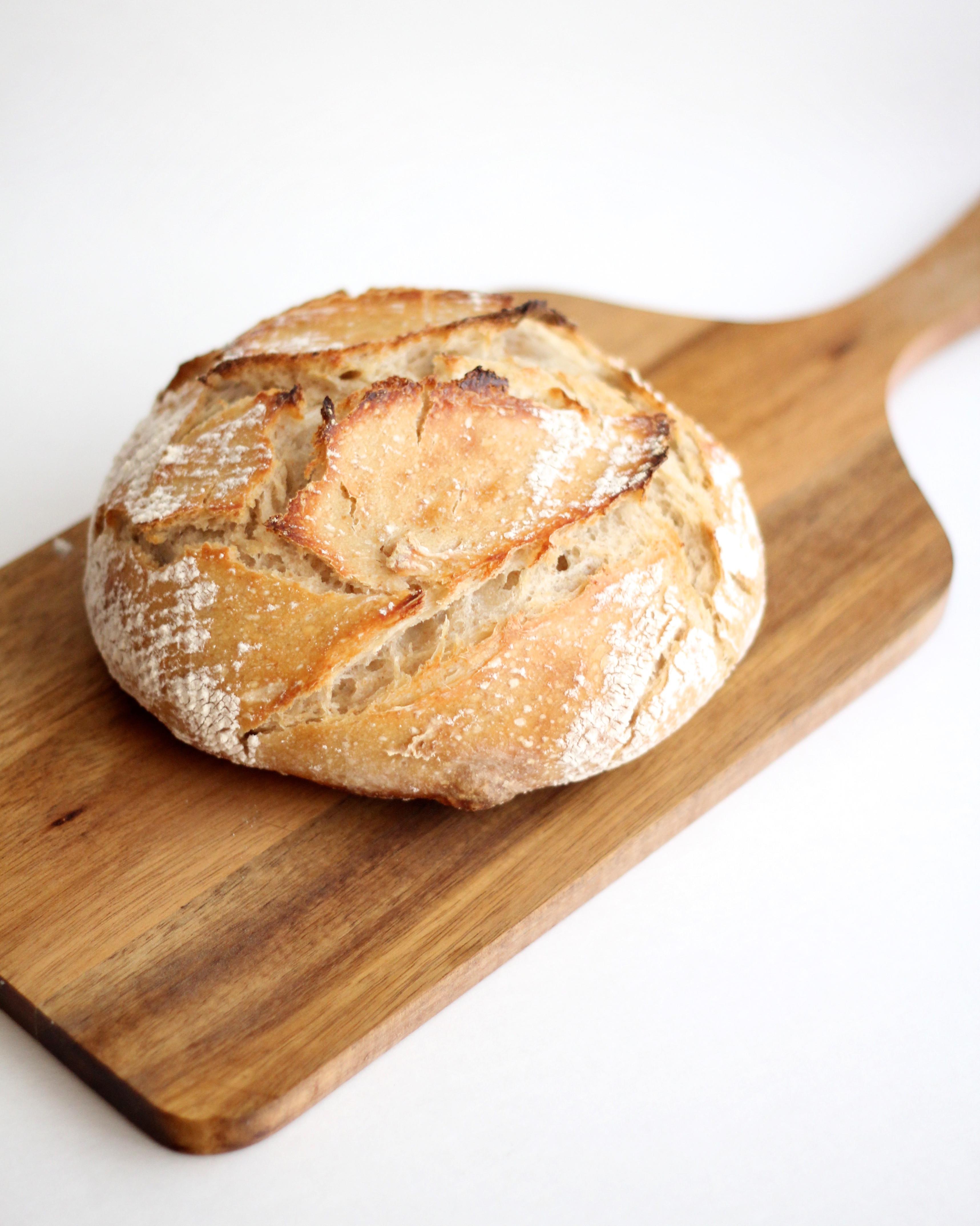 Sourdough Bread Ingredients  Beginner s Rustic Sourdough Loaf Scratch Eats