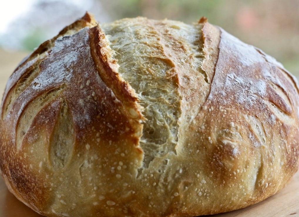 Sourdough Bread Ingredients  Beginner Artisan Sourdough Bread Recipe