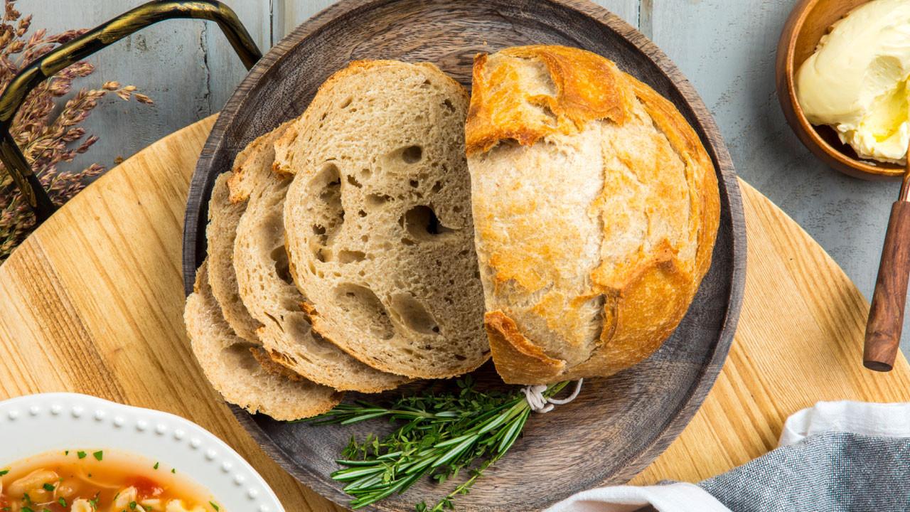 Sourdough Bread Ingredients  Recipe Kelly Vanderbeek's Sourdough Bread CBC Life