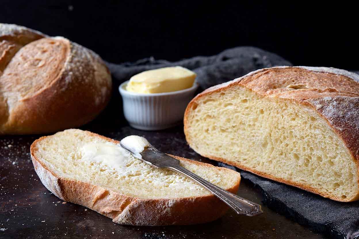 Sourdough Bread Ingredients  Rustic Sourdough Bread Recipe