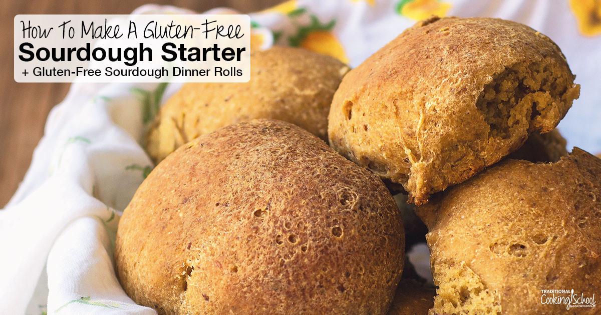 Sourdough Dinner Rolls  How To Make A Gluten Free Sourdough Starter Gluten Free