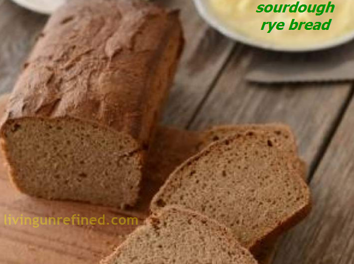 Sourdough Rye Bread Recipe  Homemade Sourdough Rye Bread Recipe – Living Unrefined