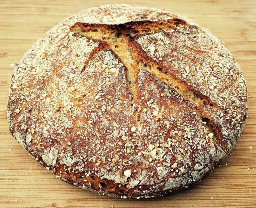 Sourdough Rye Bread Recipe  No Knead Sourdough Rye Bread