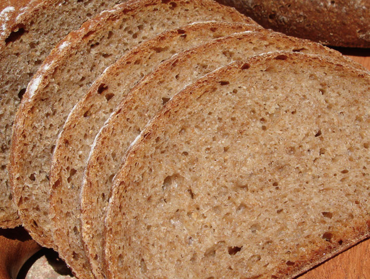 Sourdough Rye Bread Recipe  whole wheat rye bread
