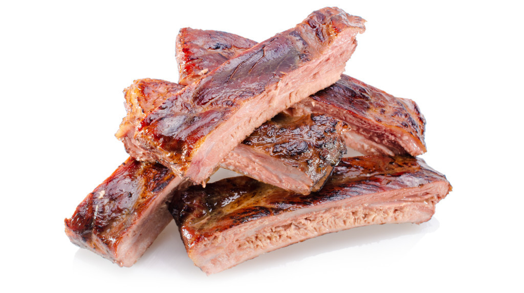 """Sous Vide Beef Ribs  48 hour Sous Vide Pork Ribs with """"Seattle style"""" Barbecue"""