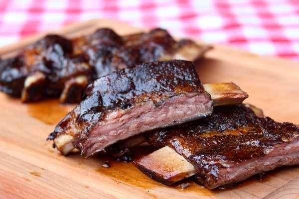 Sous Vide Beef Ribs  Meaty Beef Ribs with Rosemary Red Wine Sauce Sous Vide
