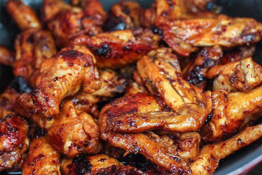 Sous Vide Chicken Wings  Kycklingvingar med honung och vitlök Sous Vide