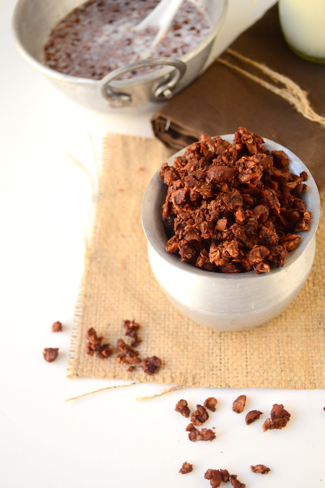 South Beach Diet Desserts  South beach t phase 1 dessert Nutty chocolate granola
