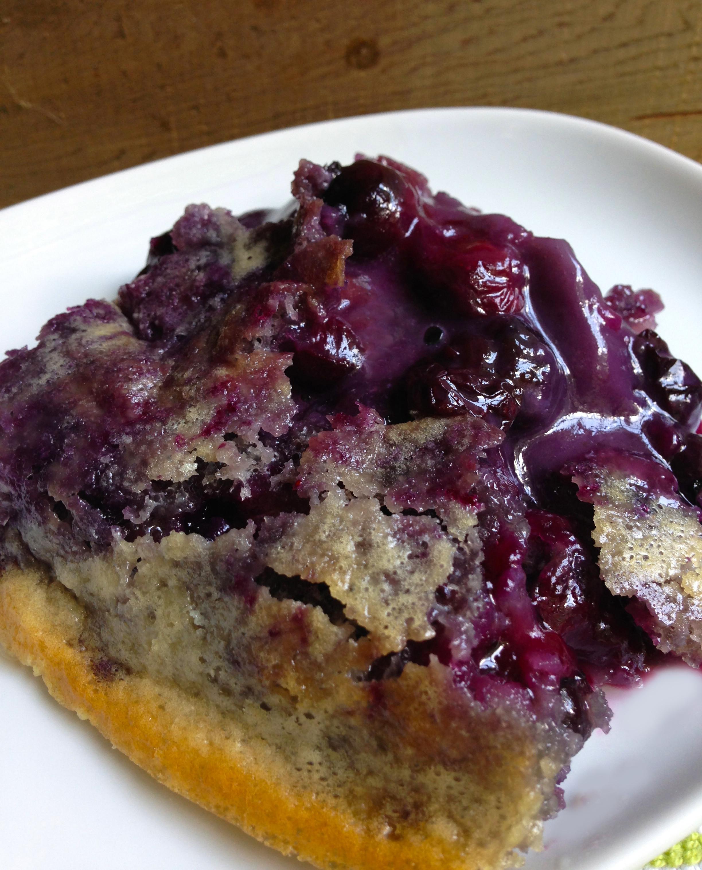 Southern Blueberry Cobbler  Brian s Blueberry Cobbler Recipe