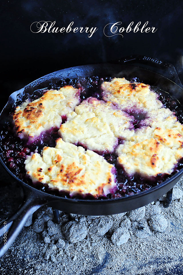 Southern Blueberry Cobbler  Blueberry Cobbler Recipe Add a Pinch