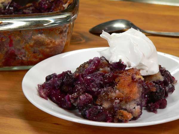 Southern Blueberry Cobbler  Southern Blueberry Cobbler Taste of Southern