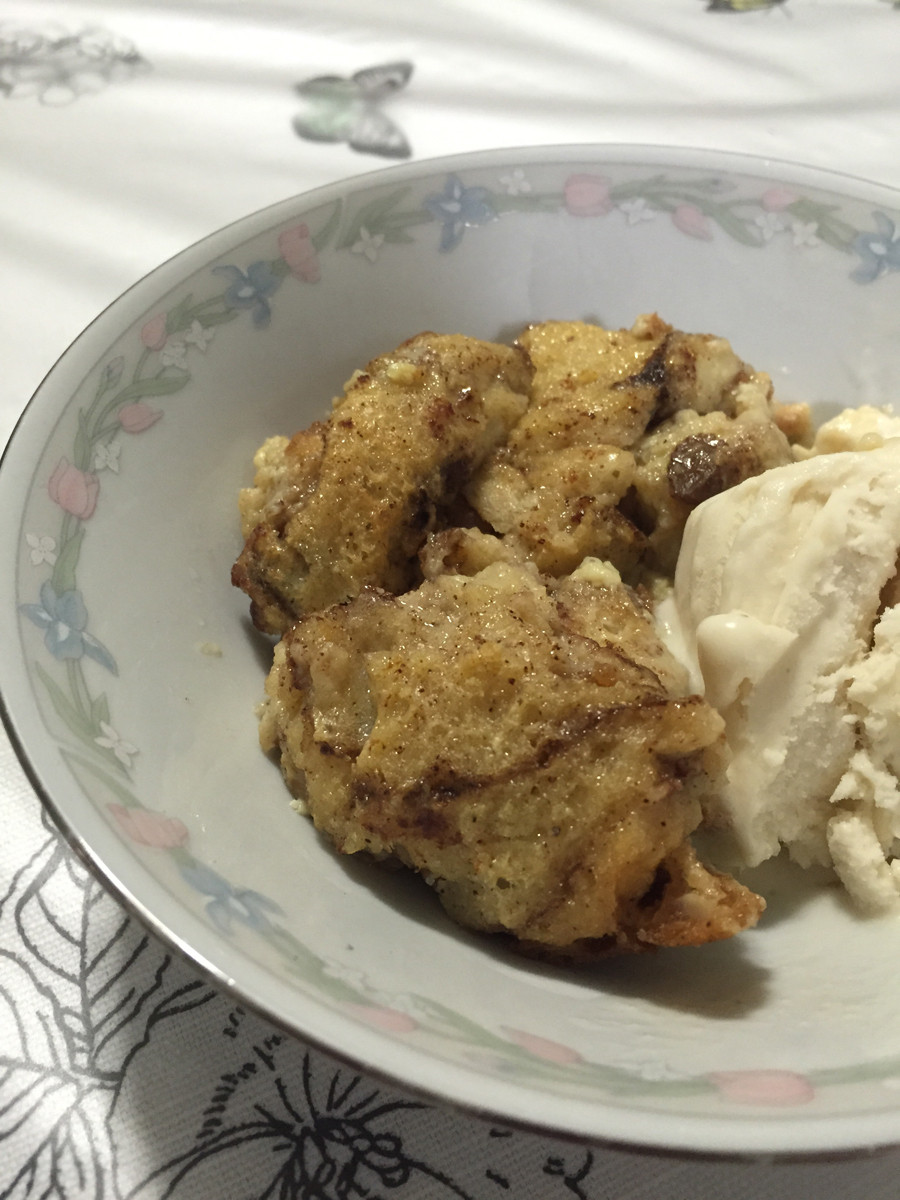 Southern Bread Pudding  southern bread pudding recipe — The Spirited Violet