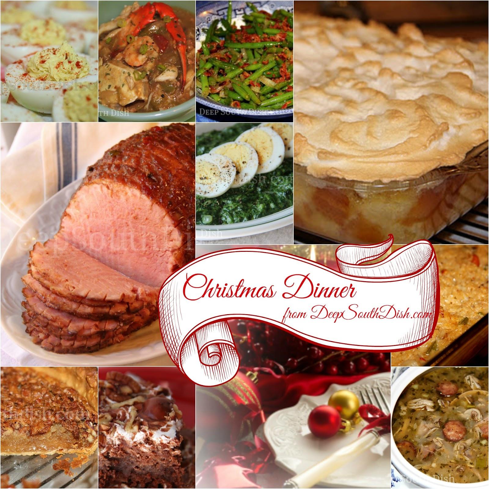 Southern Christmas Dinner Menu Ideas  Deep South Dish Southern Christmas Dinner Menu and Recipe