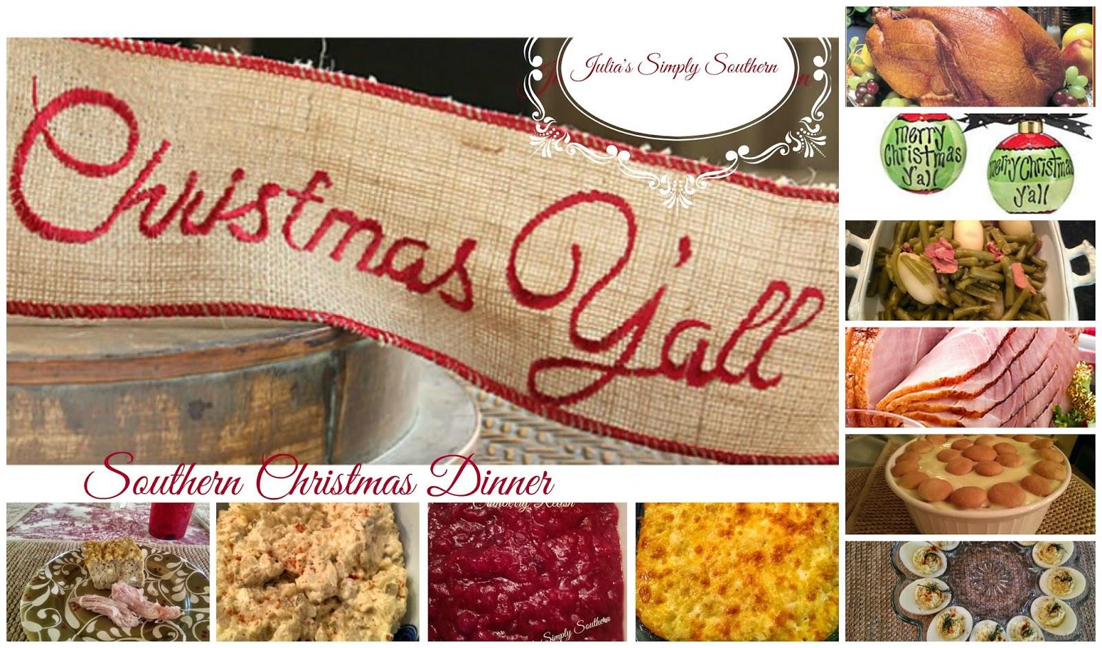 Southern Christmas Dinner Menu Ideas  Julia s Simply Southern Southern Christmas Dinner Recipes