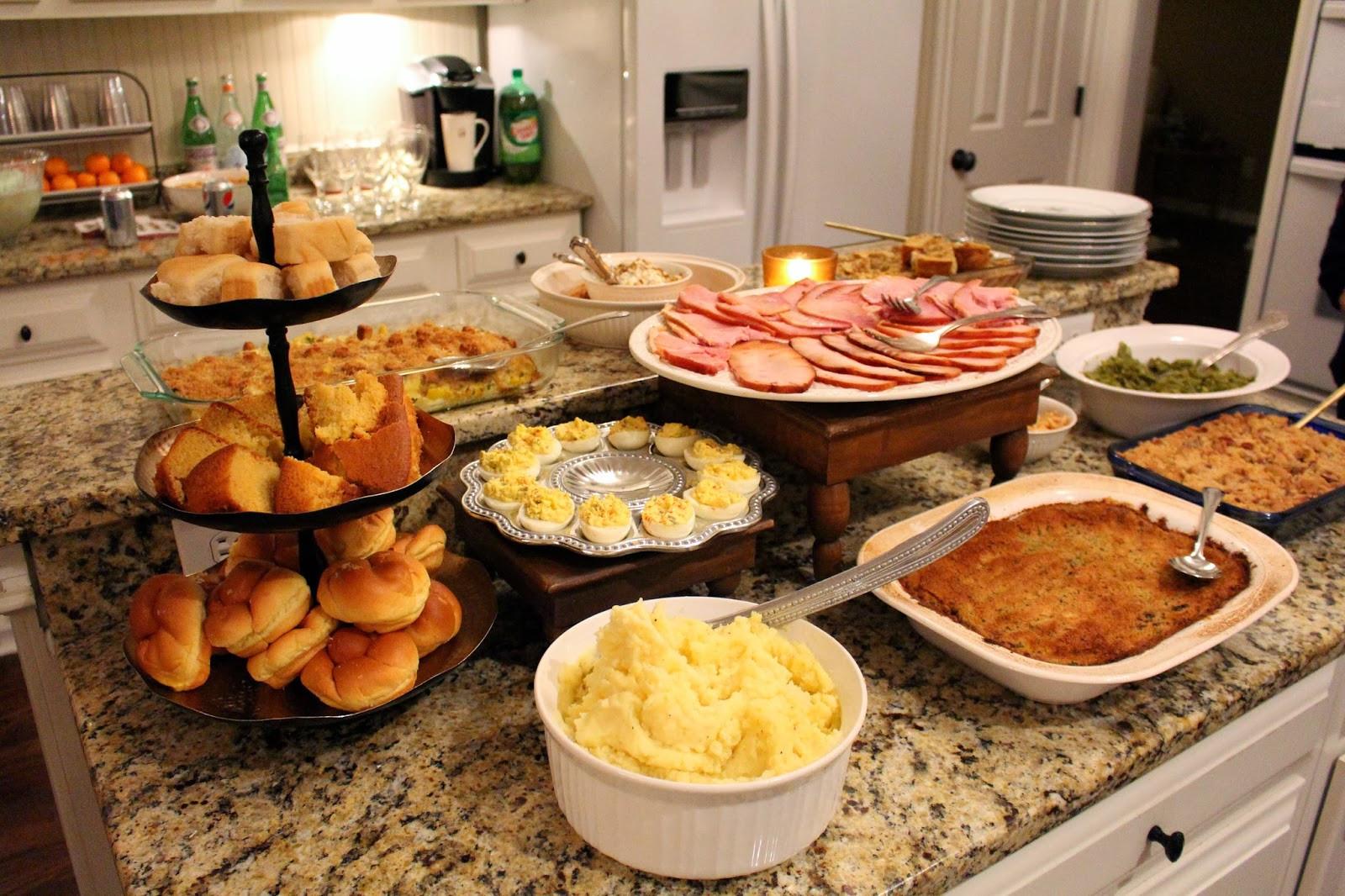 Southern Christmas Dinner Menu Ideas  Ham Christmas Dinner Ideas – Festival Collections