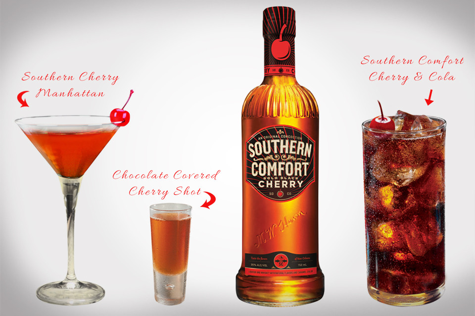 Southern Comfort Drinks  southern fort mixed drink recipes