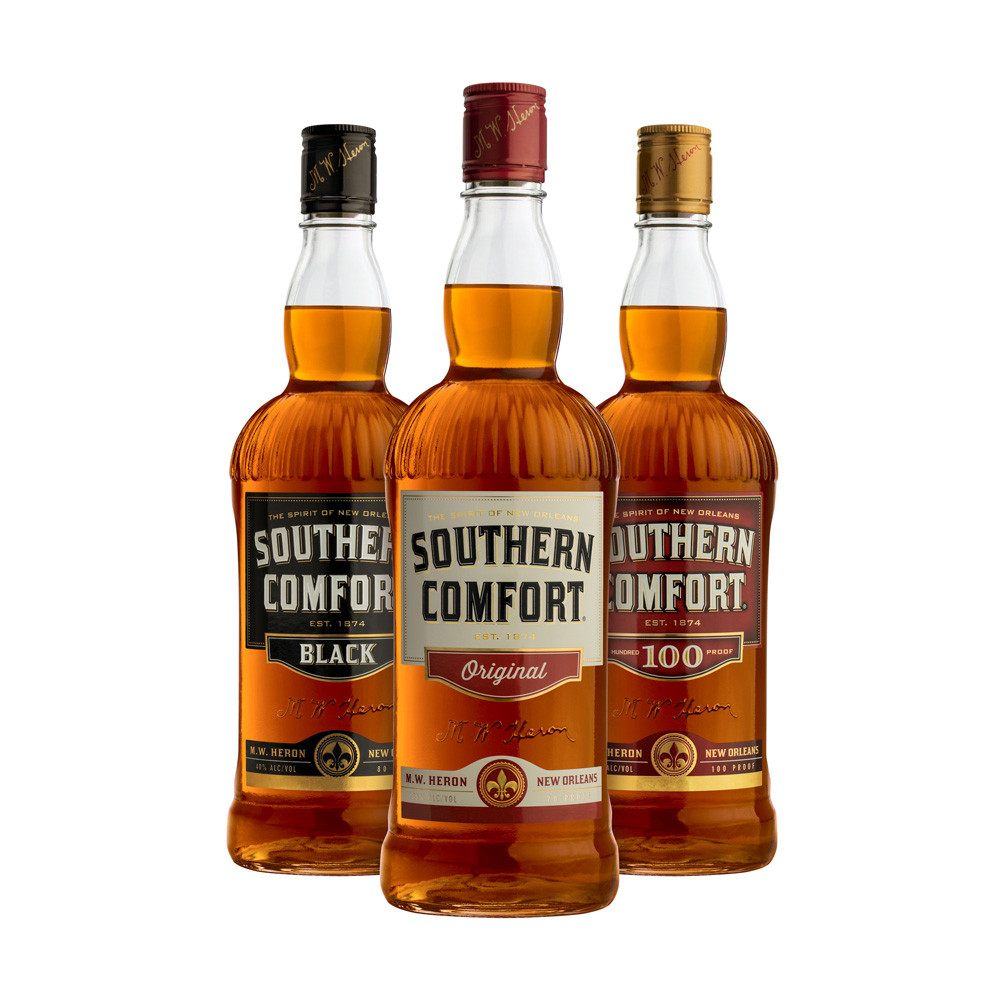 Southern Comfort Drinks  Whiskey returns to the mix for Southern fort plus a new
