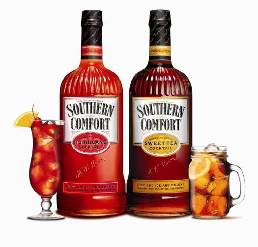 Southern Comfort Drinks  Review Southern fort Sweet Tea and Hurricane Cocktails
