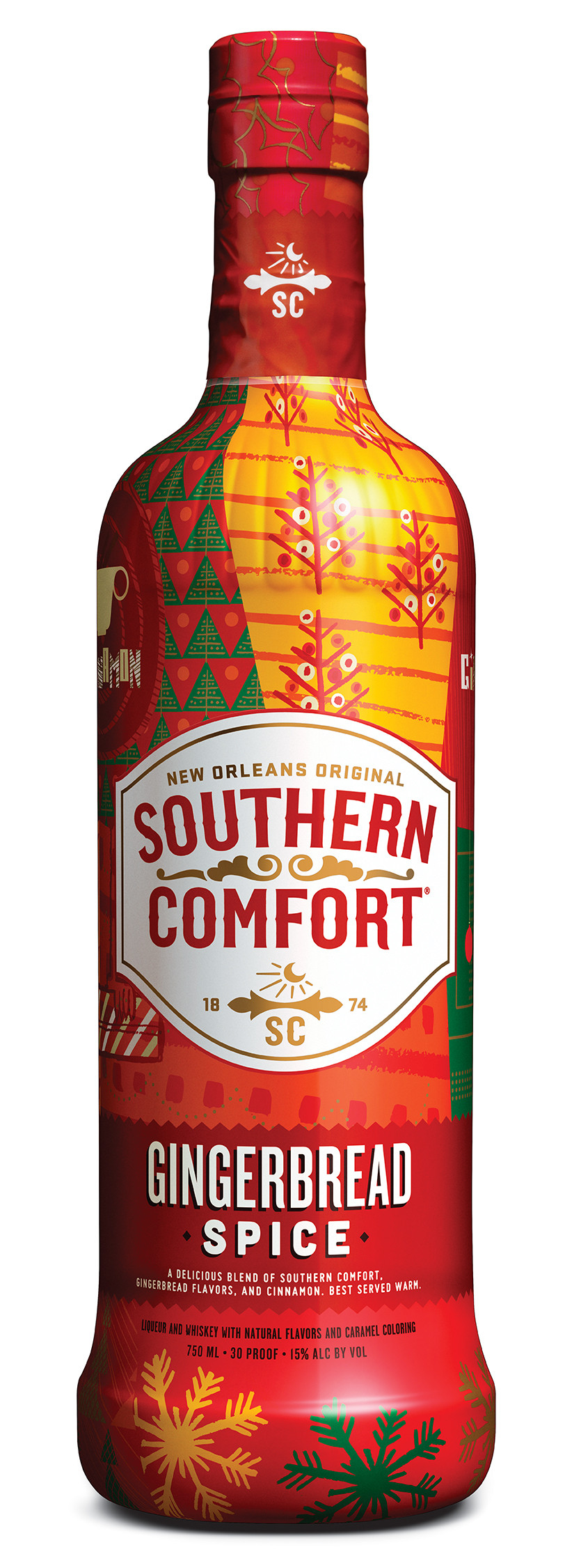 Southern Comfort Drinks  Review Southern fort Gingerbread Spice – Drinkhacker