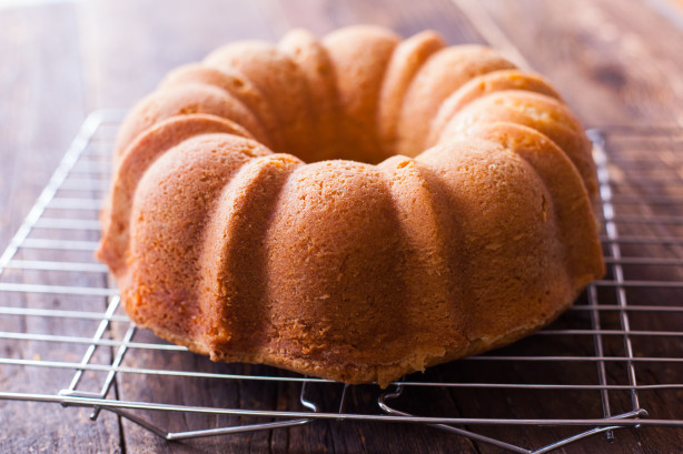 Southern Cream Cheese Pound Cake  Southern Livings Cream Cheese Pound Cake Recipe Food