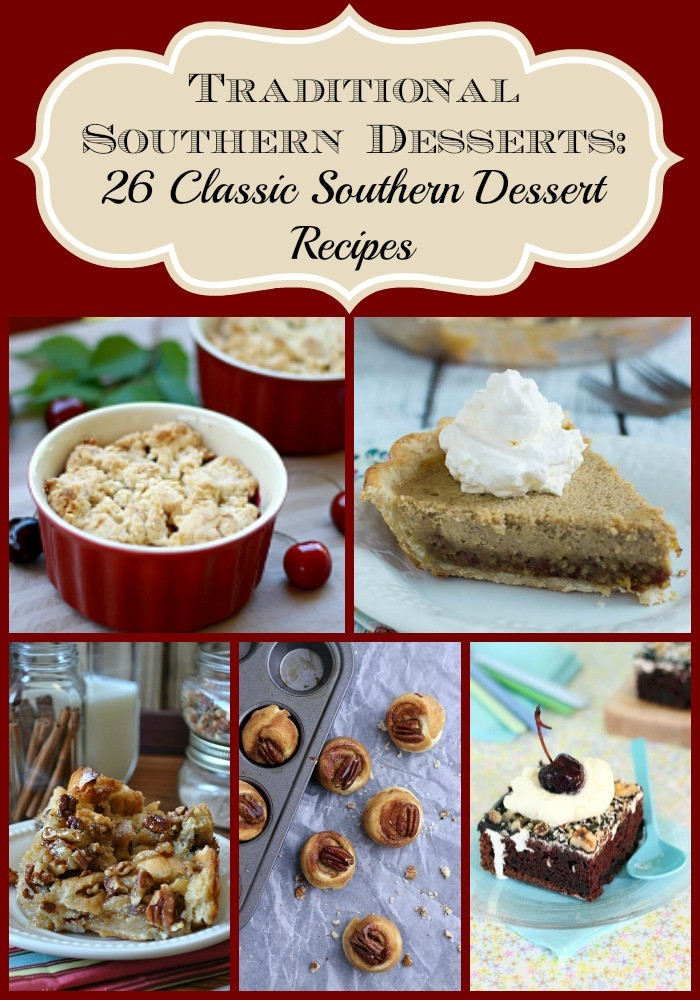 Southern Dessert Recipes  Traditional Southern Desserts 26 Classic Southern Dessert