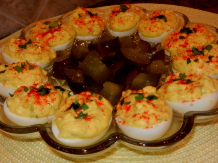 Southern Deviled Eggs  17 Best images about Southern Deviled Egg Recipe on